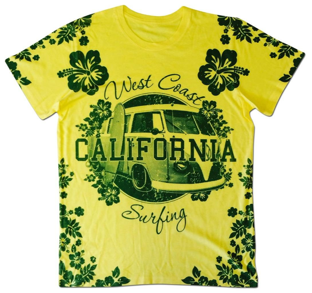All over print hawaiian graphic t shirt west coast california for Hawaiian graphic t shirts