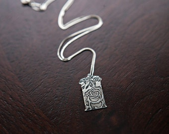 TARDIS Doctor Who Necklace, Rose Tyler TARDIS Necklace, Doctor Who Jewelry, Geek Gift Idea