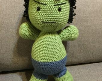 The Hulk Crochet PATTERN