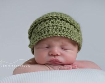 Baby Boy Hat | Baby Boy Coming Home Outfit | Baby Boy| Baby Boy Clothes | Newborn Boy | Crochet Hats | Newborn Hats | Infant Hat | Crochet