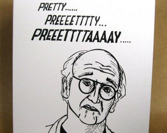 INSTANT DOWNLOAD Valentine's Day Larry David Someone Speacial Card