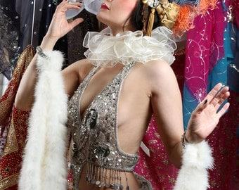Luxury Pierrot Clown Ruff