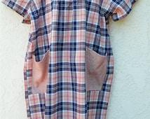 BACK OPEN DRESS, Adaptive Clothing, Comfort Clothes, Wheelchair Clothes, Handicap, Easy Clothes, Nursing Home Clothes, Senior, elderly,