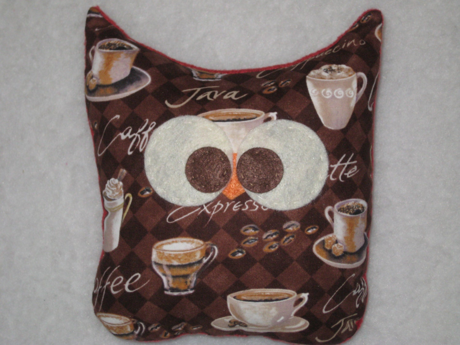Coffee owl owl plush kitchen decor owl decor ready to Owl kitchen accessories