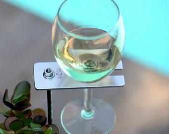 For Mom Boho Wine Glass Holder / Garden Wine Holder / Mother's Day Gift/ Wine Lover Gift