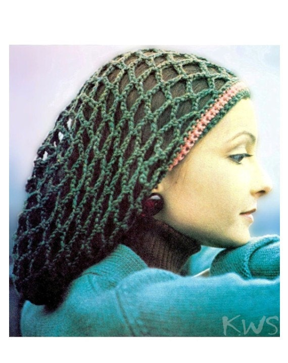 Dreadlock Tam Hat Crochet Pattern Traitoro For