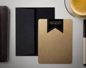 Personalized Stationery | Thank You Cards | Masculine Stationary | KRAFT BANNER | Personalized Stationary | Stationery Set | iDesignThat