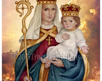 Our Lady of Good Success Print  Catholic Art Blessed Virgin Mary #4204