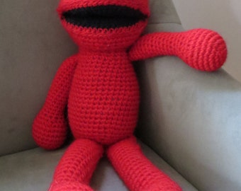 Crocheted Elmo