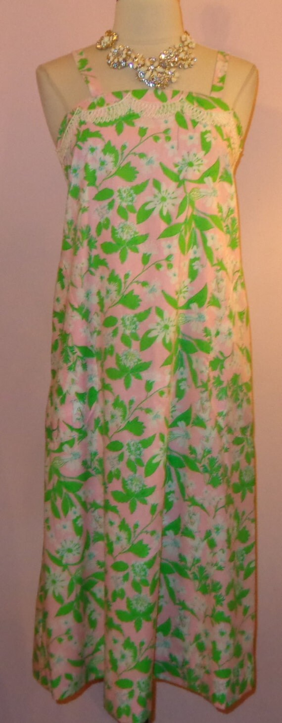 Vtg 70s Lilly Pulitzer Liza Label Nos Print By Mstopcatstyle