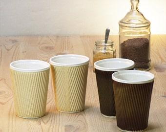 il 340x270.802867300 s5pw Coffee Mug Planter Coffee Cup Or Ceramic Travel Mug With Lid By Helenrebeccaceramics