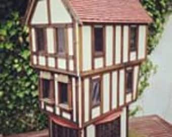 Tudor dollhouse/shop