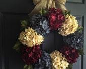 Patriotic Wreath | 4th of July Wreath | Americana Decor | Fourth of July Wreath | Memorial Day Wreath Decor | Wreath | Front Door Wreaths