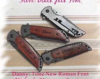 Wedding Gift Knife Penny : ... Knife , Monogram Engraving ,Groomsman Gift ,Camping Knife - Hunting
