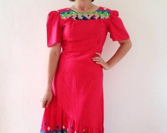 Vintage dress deluxe Hawaiian made in Japan.