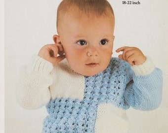 Baby Sweater Pattern Knitting Pattern PDF Pattern Baby clothing Baby Gifts to Make Instant Download Knitting Patterns Baby Pattern