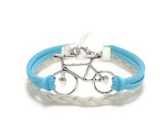 Bicycle Bracelet, Bike Bracelet, Biking Bracelet, Bicycle Jewelry, Cyclist Bracelet, Sports Bracelet, Gift for Cyclist, Gift, Gift for Her