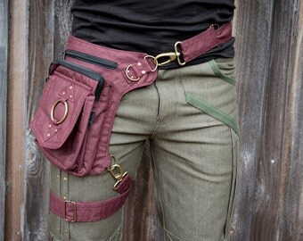 Eclipse Bag (hip belt, pocket belt, utility belt, leg belt, backpack, dynamic bag, versatile, festival belt, vending belt, Burning Man)