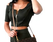 Army Green Two Piece Outfit