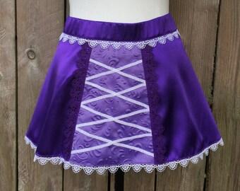 Rapunzel Inspired Running Skirt