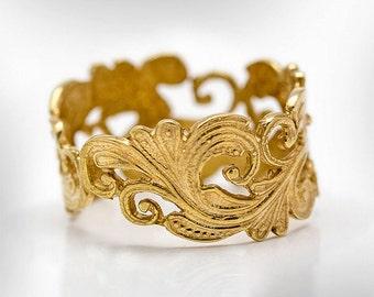 Unique wedding ring Etsy