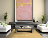 Pink Abstract Art contemporary pink painting on canvas 3ft x 4ft large painting original painting by Cheryl Wasilow