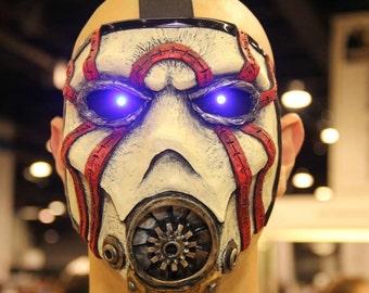 Borderlands Custom Psycho Bandit Mask w/ LEDs