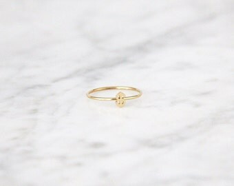 Dollar Sign Ring - 4016