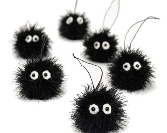 Soot Sprite Stuffed Animals Plush Monster Plushie Kids Gift My Neighbor Totoro Black Susuwatari Plush Toys studio ghibli KeyChain soft toys
