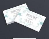 Business Card Designs - Premade - Graceful Isabella