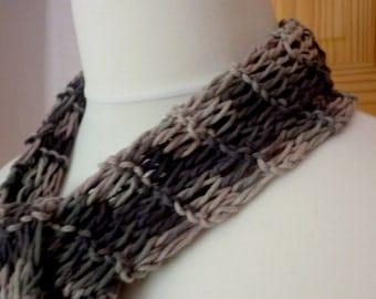 Rose Grey Summer scarf