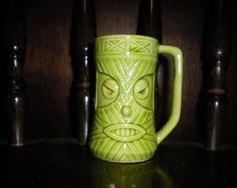 Vintage 1960's Tiki Ceramic Drink Mug with handle by Westwood (Japan).