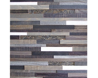 "Large Reclaimed Wood Wall Art - Evening Shadows 21"" x 30"""