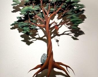 Juniper Tree, Wall sculpure, Fairytale trope series