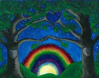 Notecards-Nature's Rainbow Promise