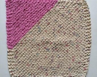 Knitted Dishcloth, Knitted Washcloth, Knitted Scrubbie, Cotton Dishcloth, Knit Dishcloth, Knit Washcloth, kitchen cloth