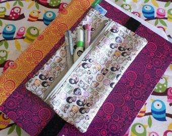 Cute Adventure Time Pencil Case with Elastic Zipper Pouch Pen Box School Jake Finn