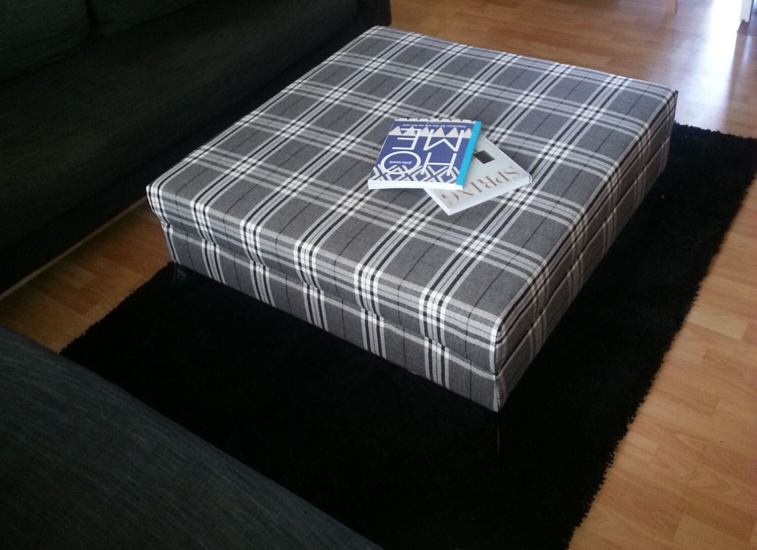 Bespoke extra large modern contemporary footstool coffee zoom geotapseo Images
