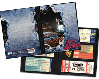 Concert Ticket Stub Album