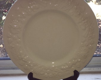 """GEORGE JONES & SONS, Made in England, Set of 4, 9"""" Vintage """"Rhapsody"""" Crescent Plates"""