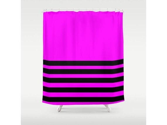 Fuchsia Shower Curtain Purple Shower Curtain By