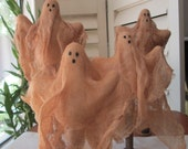 "Primitive Halloween Ghosts- 10"" -13"""