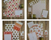 Various Themes: Gold, Bronze and Orange Dashboards Customizable for Any Planner (Erin Condren, PlumPaper, Celebrate 365 *The Happy Planner*)