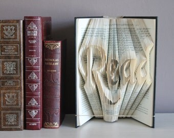 Book Folding Read Pattern & Instructions