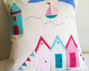 New..........Beach scene scatter cushions