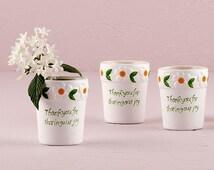 Popular Items For Flower Pot Favors On Etsy