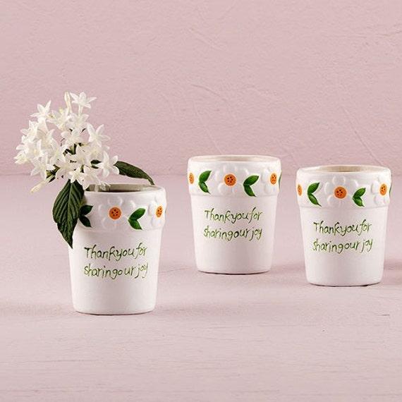 Wedding Favor Mini Flower Pot Favors Bridal Shower Favor