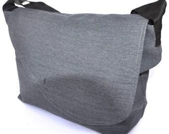 Quality New Zealand canvas sailor shoulder/sling navy blue Umhängetasche - sac à bandoulière - bolso de bandolera