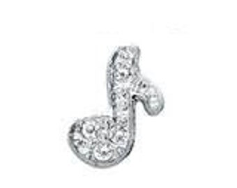 Floating Charms Music Note