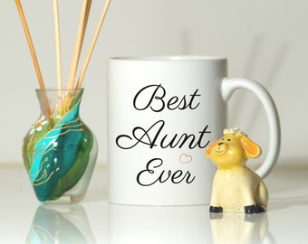 Aunt mug, Aunt gift, Gift for aunt, Auntie gift, Auntie mug, Gift ideas for aunt, Birthday for aunt, New Aunt gift, Christmas aunt gift